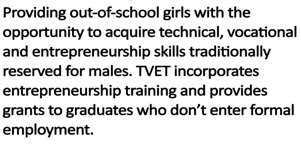 Technical and vocational education and training (TVET