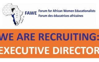 FAWE is recruiting an Executive Director