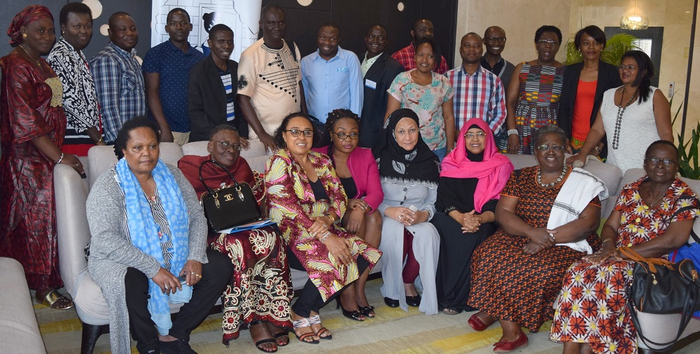 Participants at the FAWE Strategic Plan 2019-2023 Validation Workshop