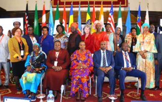 Conference on Education of Girls and Women in Conflict and Post-Conflict situations: Group photo