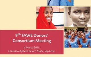 9th FAWE Donors' Consortium Meeting, 2011