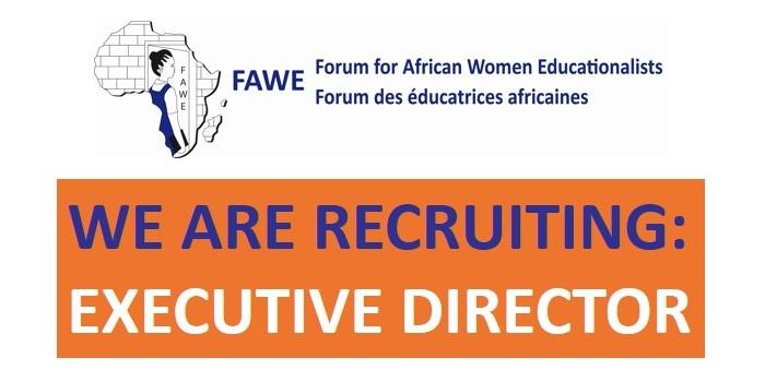 FAWE is recruiting an Executive Director