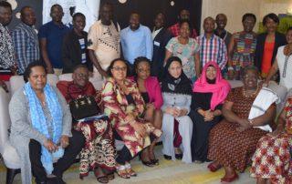 Participants at the FAWE Strategic Plan 2019-2023 Validation Workshop